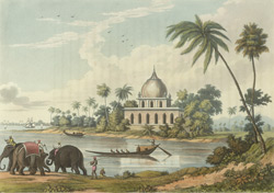 Ancient Tomb at the Confluence of the Boglipore Nullah
